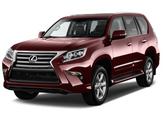 2017 Lexus GX GX 460 4WD Angular Front Exterior View