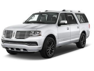 2017 Lincoln Navigator L 4x4 Select Angular Front Exterior View