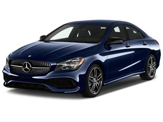 2017 Mercedes-Benz CLA CLA250 Coupe Angular Front Exterior View