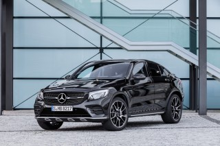 2017 Mercedes-AMG GLC43 Coupe drops cover ahead of Paris Motor Show