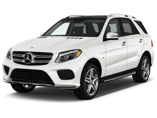 2017 Mercedes-Benz GLE GLE550e 4MATIC SUV Angular Front Exterior View