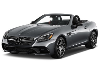 2017 Mercedes-Benz SLC AMG SLC43 Roadster Angular Front Exterior View