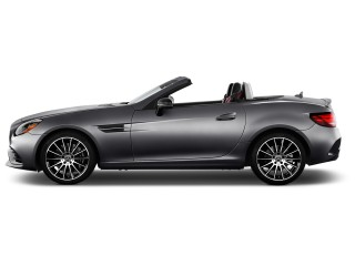 2017 Mercedes-Benz SLC SLC300 Roadster Side Exterior View