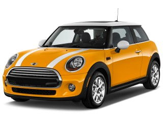2017 MINI Hardtop 2 Door Cooper FWD Angular Front Exterior View