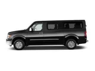 2017 Nissan NV Passenger V8 SV Side Exterior View