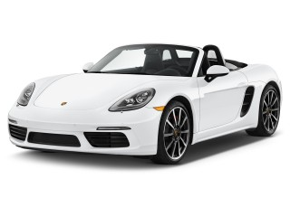 2017 Porsche 718 Boxster S Roadster Angular Front Exterior View