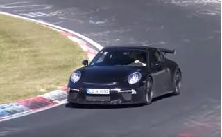 2017 Porsche 911 GT3 spy video