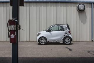 2017 Smart ForTwo Electric Drive (European model) prototype, Aug 2016