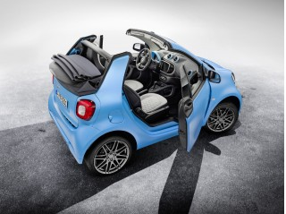 2017 Smart ForTwo Cabrio equipped with Brabus Sports package
