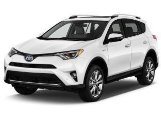 2017 Toyota RAV4 Hybrid Limited AWD (Natl) Angular Front Exterior View