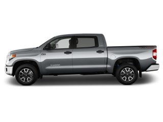 2017 Toyota Tundra 4WD TRD Pro CrewMax 5.5' Bed 5.7L (Natl) Side Exterior View