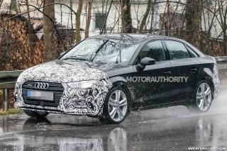 2018 Audi A3 facelift spy shots - Image via S. Baldauf/SB-Medien