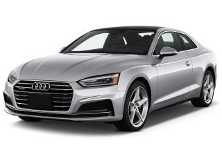 2018 Audi A5 Coupe 2.0 TFSI Premium Manual Angular Front Exterior View