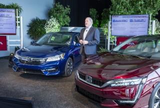 2017 Honda Clarity Fuel Cell with American Honda's John Mendel, Apr 2016