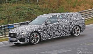 2018 Jaguar XF Sportbrake spy shots - Image via S. Baldauf/SB-Medien