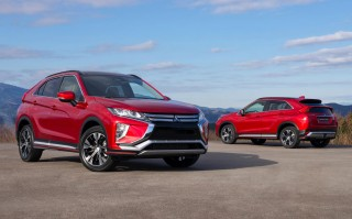 2018 Mitsubishi Eclipse Cross revealed ahead of Geneva debut