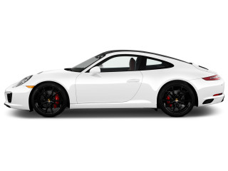 2018 Porsche 911 Carrera S Coupe Side Exterior View