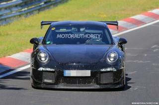 2018 Porsche 911 GT2 spy shots - Image via S. Baldauf/SB-Medien