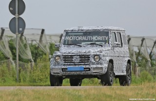 2019 Mercedes-Benz G-Class spy shots