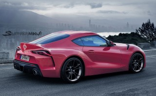 New information says 2019 Toyota Supra will get a manual transmission, turbo V-6 engine