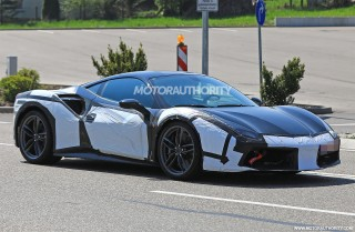 2020 Ferrari 488 successor spy shots
