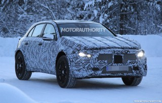 2020 Mercedes-Benz GLA spy shots