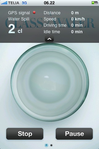 A Glass of Water App