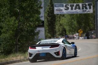 Acura NSX at the 2016 Pikes Peak International Hill Climb