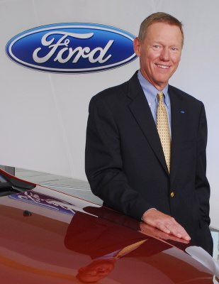 Ford boss alan mullaly sees light at end of tunnel for Ford motor company alan mulally
