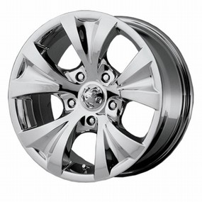 Alba chrome wheel