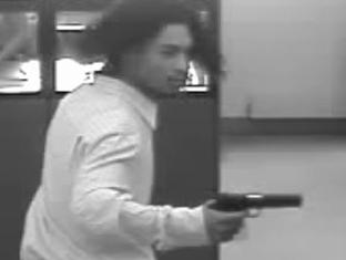 Alleged robbery at Artisans Bank, Bear, Delaware