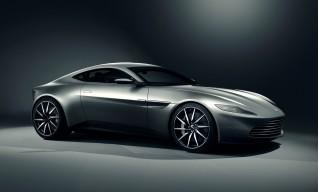 Aston Martin DB10 from new James Bond movie 'Spectre'