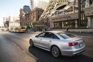 Audi launches first public vehicle-to-infrastructure system in Las Vegas