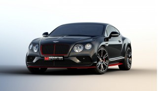 Bentley Continental GT V8 S with Monster audio - 2016 Consumer Electronics Show