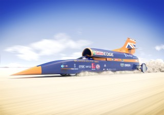 China's Geely is new partner for Bloodhound land speed record team