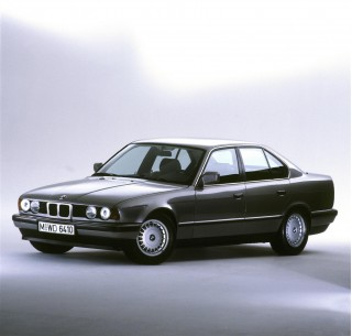 BMW celebrates five generations of the 5-Series