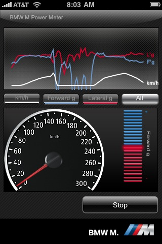 BMW M Power Meter app