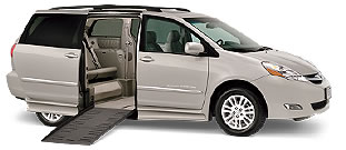 BraunAbility Ramp Van