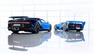 Bugatti Chiron and Vision Gran Turismo concept