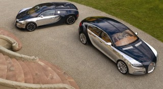 Bugatti Veyron and Galibier 16C concept