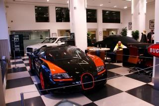 Bugatti Veyron Grand Sport Vitesse World Record Car - Image via H.R. Owen