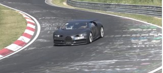 Bugatti Chiron at Nürburgring