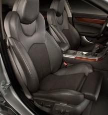 Cadillac CTS Recaro seats