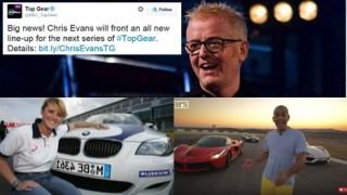 Chris Evans, Sabine Schmitz, Chri Harris Host Top Gear