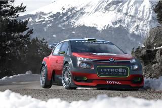 Citroën C3 WRC concept, 2016 Paris auto show