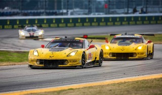 Corvette Racing C7.R at the 2016 Rolex 24 at Daytona