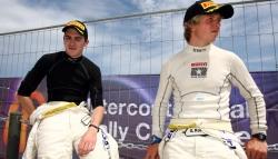 Craig Breen (left) and Gareth Roberts