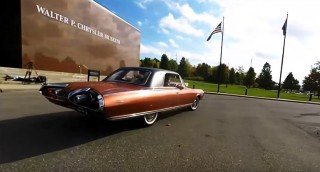 Driving a Chrysler Turbine Car