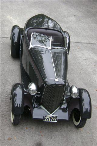 Edsel Ford's 1932 Boattail Speedster