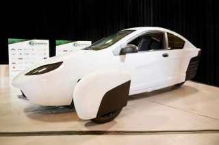 Elio E1A test vehicle, June 2016
